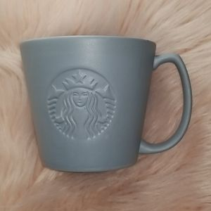 Matte Blue Starbucks Mug